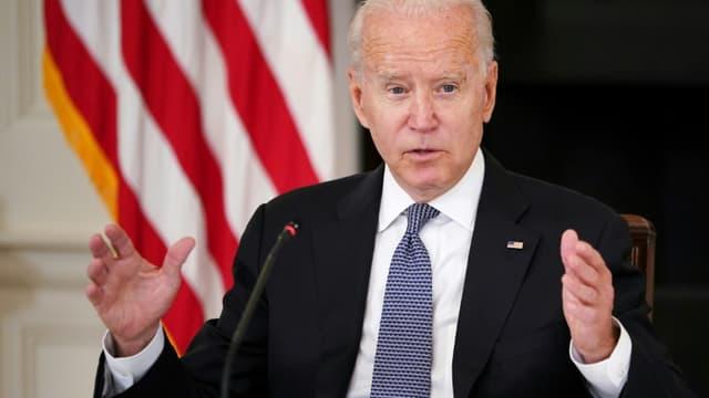 Le président Joe Biden à la Maison Blanche le 30 juillet 2021