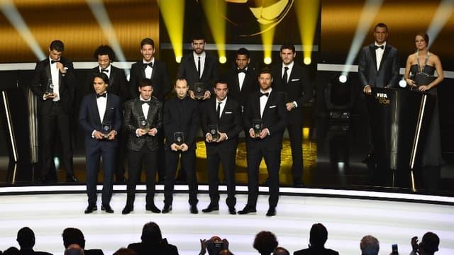 L'équipe-type FIFA 2012, 100% Liga