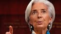 Selon Mediapart, la directrice générale du Fonds monétaire international, Christine Lagarde, est convoquée dans la seconde quinzaine du mois de mai dans l'affaire Tapie par la cour de justice de la République. /Photo prise le 10 avril 2013/REUTERS/Brendan