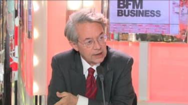 Philippe Marini, le président (UMP) de la Commission des finances du Sénat, était l'invité de BFM Business, lundi 4 février.