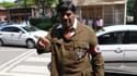 Naramalli Sivaprasad déguisé en Hitler.