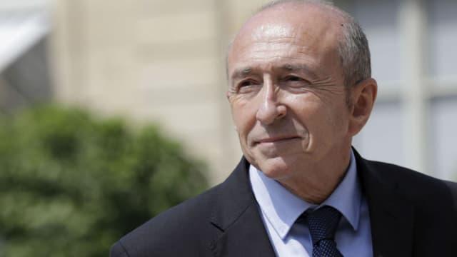 Gérard Collomb, le ministre de l'Intérieur.