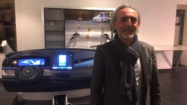 Serge Passolunghi est à la tête des trois Open Innovation Labs de Renault dont le dernier vient d'ouvrir à Paris.