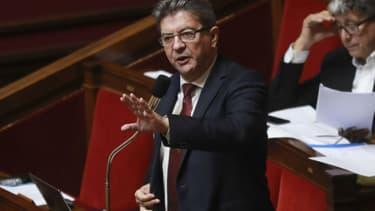 Jean-Luc Mélenchon à l'Assemblée nationale le 26 juillet 2017