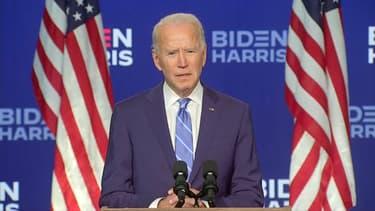 Joe Biden ce mercredi soir