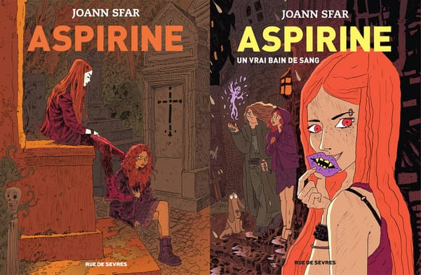 Aspirine de Joann Sfar