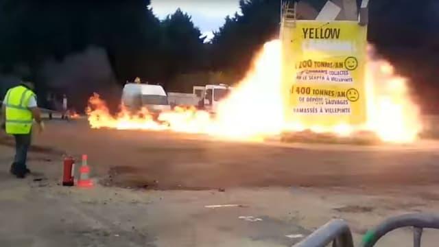 Explosion accidentelle lors du carnaval de Villepinte, le 1er avril 2017
