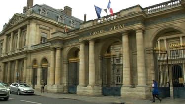 La façade du Conseil d'Etat, où était examiné ce jeudi le cas de Vincent Lambert.