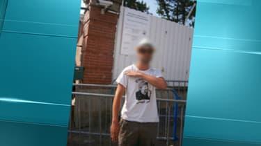 La photo prise devant l'école Ozar Hatorah, où Mohamed Merah a tué trois personnes.