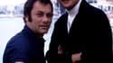 Tony Curtis et Roger Moore dans la série culte des années 70 Amicalement votre