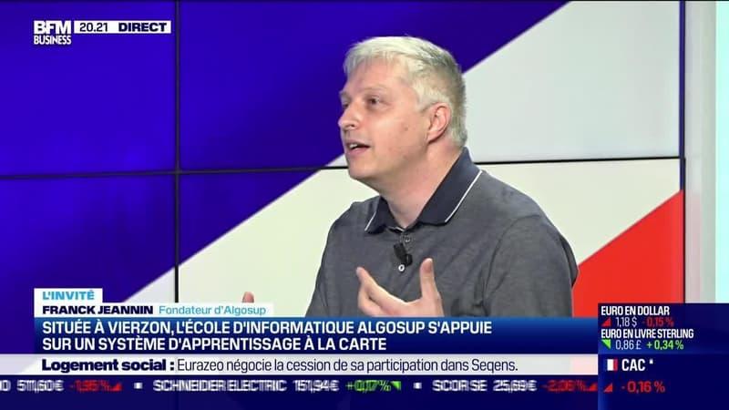 Franck Jeannin (Algosup) : Située à Vierzon, l'école d'informatique Algosup s'appuie sur un système d'apprentisage à la carte - 26/08