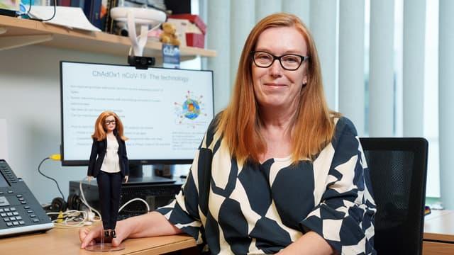 Sarah Gilbert, co-créatrice du vaccin AstraZeneca