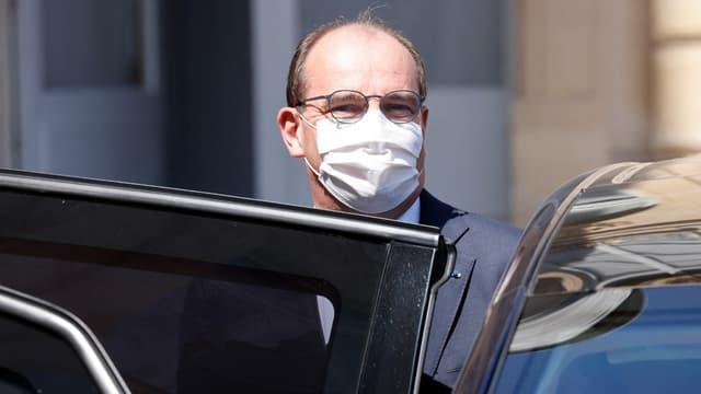 Le Premier ministre Jean Castex à sa sortie du Palais de l'Élysée le 9 juin 2021. (photo d'illustration)