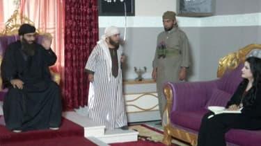Abou Bakr Al-Baghdadi et ses jihadistes sont banalisés et ridiculisés dans cette série irakienne.