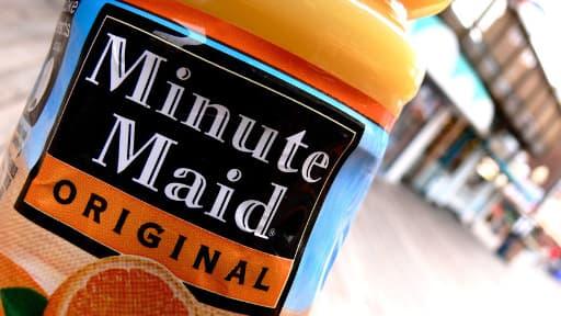 Minute Maid ne pourra plus mentir sur ses étiquettes.