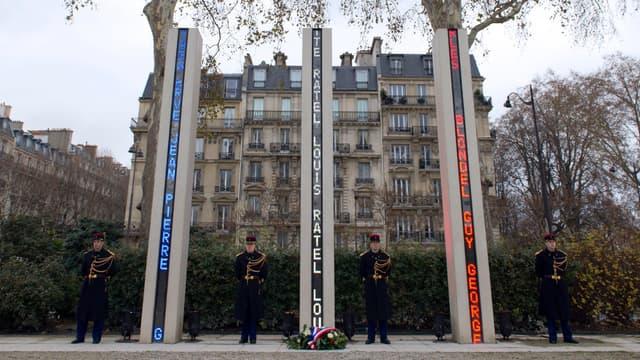 Mémorial d'hommage aux victimes de la guerre d'Algérie
