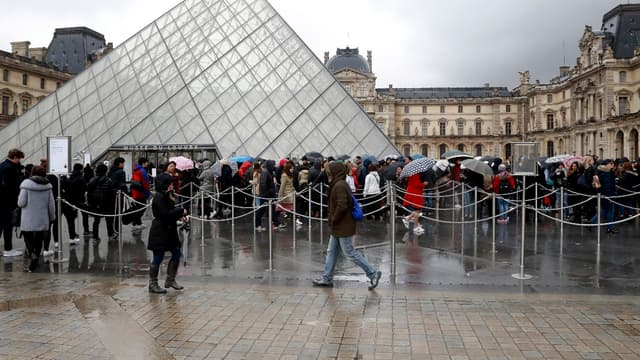 Le Louvre a rouvert ses portes ce samedi 4 février.