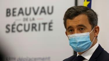 Le ministre de l'Intérieur Gérald Darmanin à Paris le 5 mars 2021