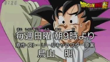 """Capture du teaser de """"Dragon Ball Super"""", diffusé le 15 juin dernier."""