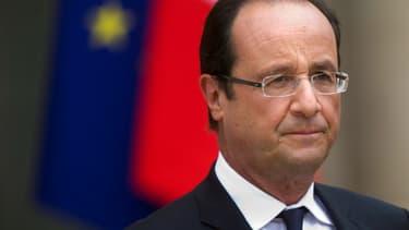 François Hollande réaffirme son objectif d'inverser la courbe du chômage