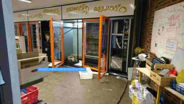 Les images de la faculté de Tolbiac après son évacuation
