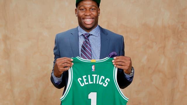 Guerschon Yabusele, drafté par les Boston Celtics