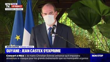 """Jean Castex: """"Cette visite témoigne de ma volonté forte d'exprimer à la Guyane, la solidarité et le total engagement de la République"""""""