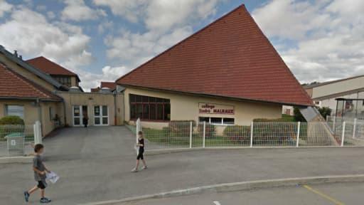 Le collège André-Malraux de Pontarlier, où était scolarisée la jeune fille de 15 ans.