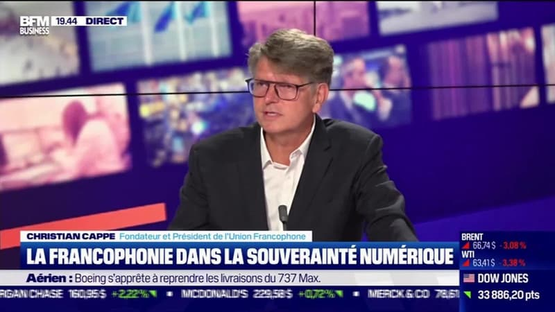 Christian Cappe (Union Francophone) : La francophonie dans la souveraineté numérique - 13/05