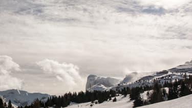 Le domaine skiable de la Joue-du-Loup, dans le massif du Dévoluy.