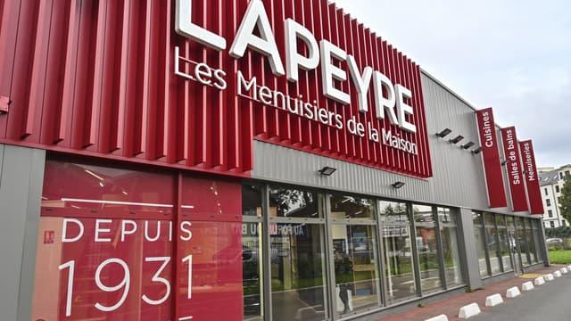 Un magasin Lapeyre.
