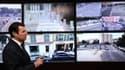 """Le maire UMP de Nice, Christian Estrosi, a inauguré lundi son """"centre de supervision urbain"""". D'ici la fin de l'année, ce bâtiment flambant neuf recevra en temps réel les images des 642 caméras qui surveilleront nuit et jour, sept jours sur sept, l'ensemb"""