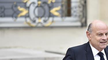 Jean-Marie Le Guen quitte l'Elysée le 19 octobre 2016, après le conseil des ministres.