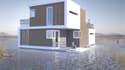 Un cabinet invente une nouvelle maison flottante.