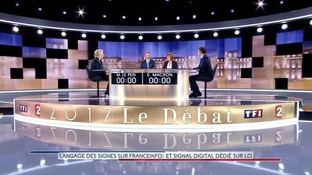 Emmanuel Macron et Marine Le Pen, candidats au deuxième tour de l'élection présidentielle.
