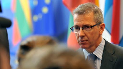 Bernadino Leon, représentant spécial de l'UE pour la région du Sud de la Méditerranée, lundi.