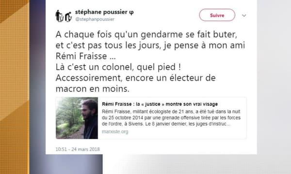 Les tweets postés par Stéphane Poussier.