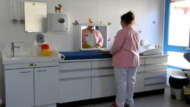 Les autorités de santé ne rouvriront pas la maternité de Die (photographiée le 5 mars 2019) après l'enquête sur la mort d'un bébé in utero en février