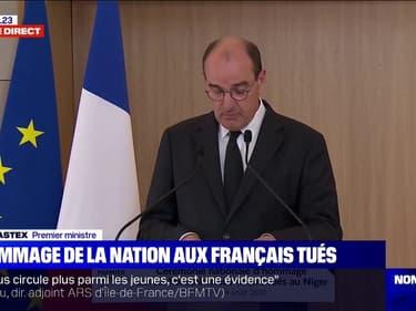 """Jean Castex:  """"Les victimes de cet attentat étaient venues faire le bien, elles y ont rencontré le mal"""""""