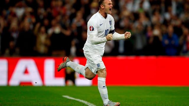 Wayne Rooney, désormais meilleur buteur de l'histoire de la sélection anglaise