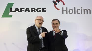 Pour sauver son mariage avec Holcim, Lafarge a dû accepter d'importantes concessions financières... Et surtout managériales