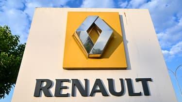 Image d'illustration - Un logo Renault