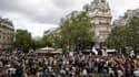 Le cortège parisien contre le pass sanitaire