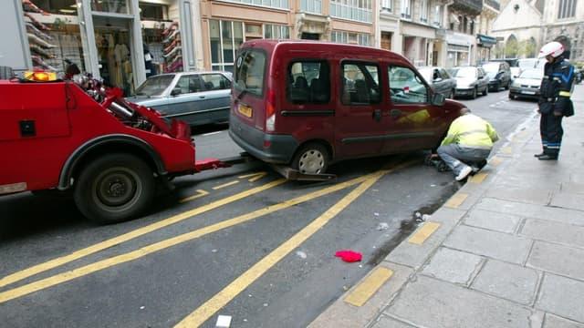 250.000 véhicules par an sont enlevés à Paris.