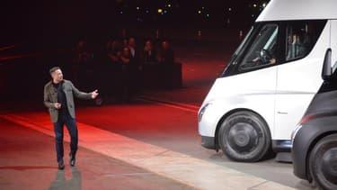 Le camion a été présenté en novembre.