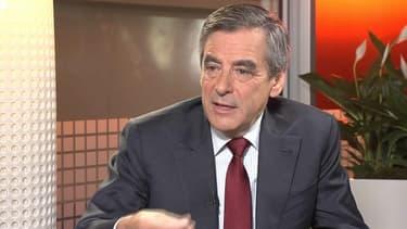 François Fillon invité de BFMTV le 22 novembre