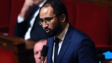 Le député LaREM des Deux-Sèvres Guillaume Chiche à l'Assemblée nationale, le 26 juillet 2017