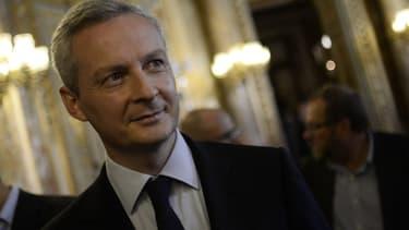 Le député et candidat à la présidence de l'UMP fin novembre, Bruno Le Maire.