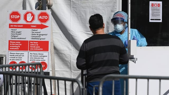 Les Etats-Unis sont en train de devenir le nouveau foyer de l'épidémie de coronavirus