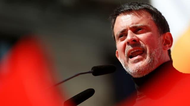 Manuel Valls à Barcelone le 18 mars 2018.